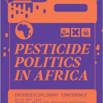 PESTICIDE POLITICS IN AFRICA, 28 – 31 Mai